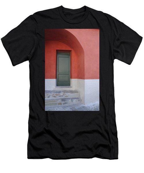 Italy - Door Two Men's T-Shirt (Athletic Fit)