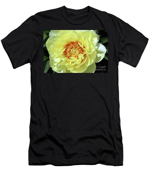 Itoch Peony  Men's T-Shirt (Athletic Fit)
