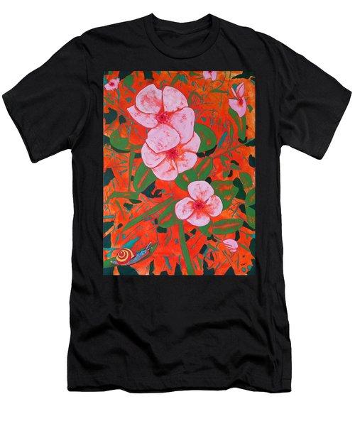 It's A Big World Men's T-Shirt (Athletic Fit)