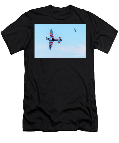It's A Bird And A Plane, Red Bull Air Show, Rovinj, Croatia Men's T-Shirt (Athletic Fit)