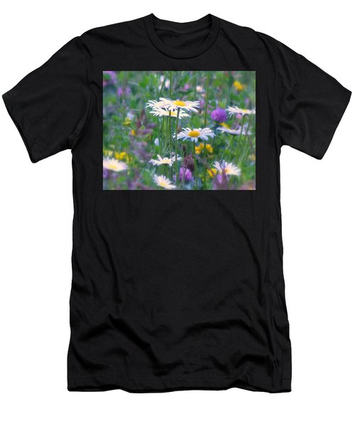 It's A Daisy Kind Of Day Men's T-Shirt (Athletic Fit)