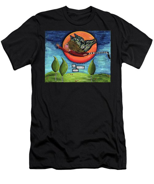 It's A Magical Whimsical Life Men's T-Shirt (Athletic Fit)