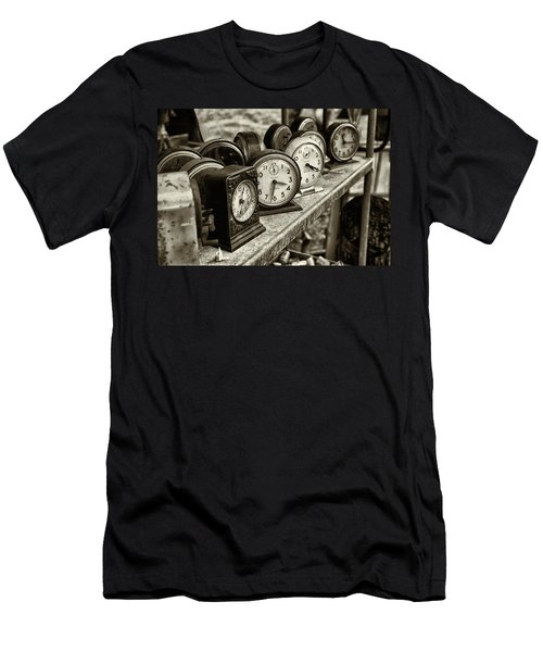 It's About Time Men's T-Shirt (Slim Fit) by John Hoey