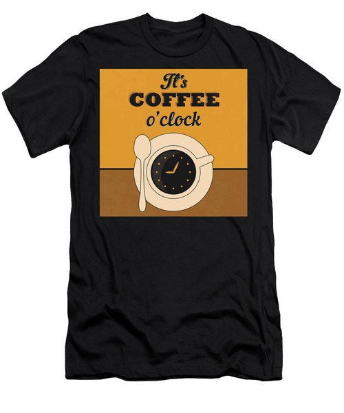 It's Coffee O'clock Men's T-Shirt (Athletic Fit)