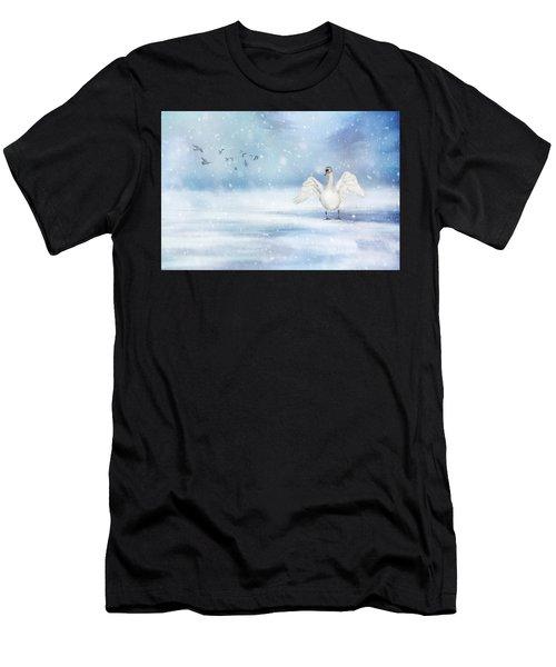 It's Snowing Men's T-Shirt (Athletic Fit)