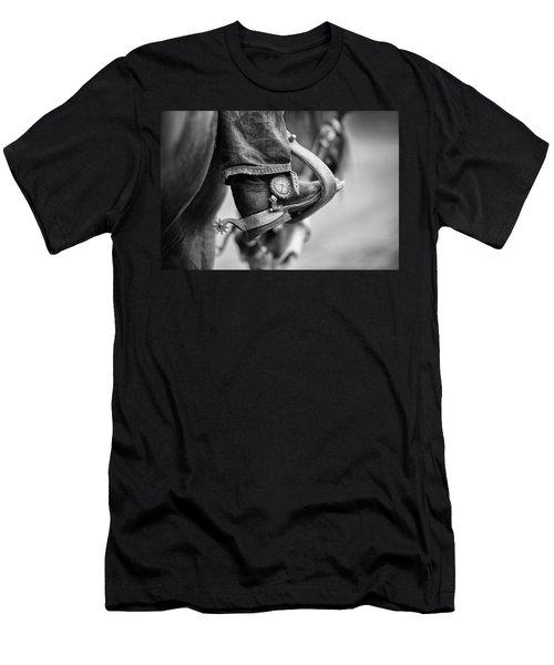 I've Got Spurs - Three Bars Ranch Men's T-Shirt (Athletic Fit)