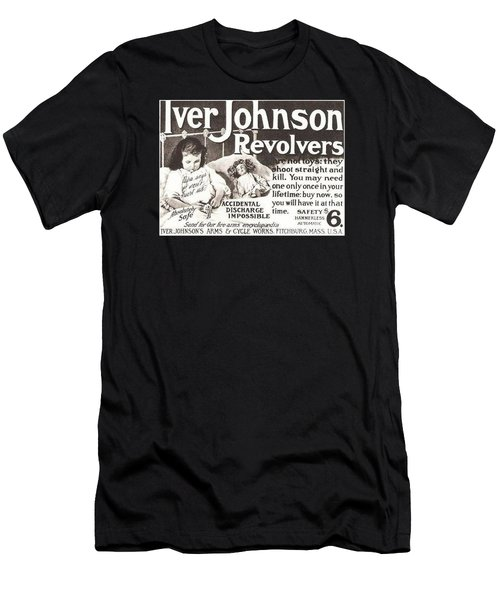 Iver Johnson Revolvers Men's T-Shirt (Athletic Fit)