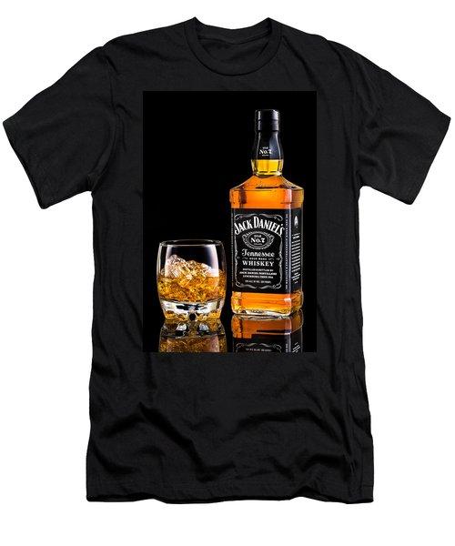 Jack Daniel's Men's T-Shirt (Slim Fit) by Mihai Andritoiu