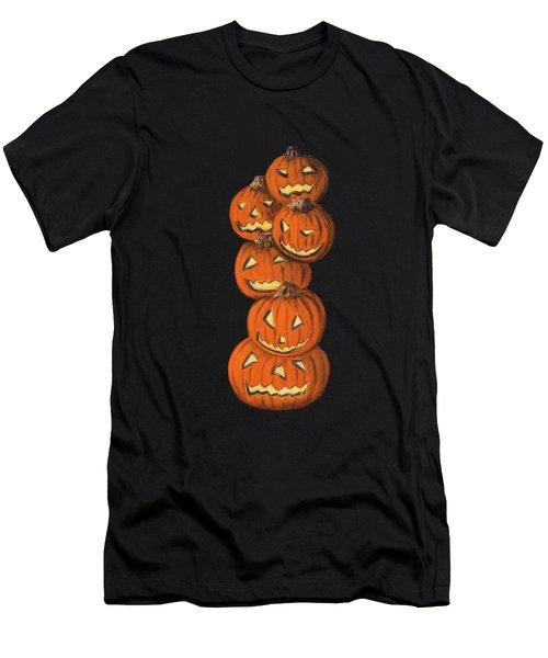 Jack-o-lantern Men's T-Shirt (Athletic Fit)