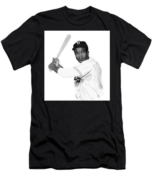 Jackie Robinson Men's T-Shirt (Athletic Fit)