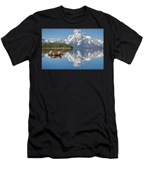 Jackson Lake, Gtnp Men's T-Shirt (Athletic Fit)