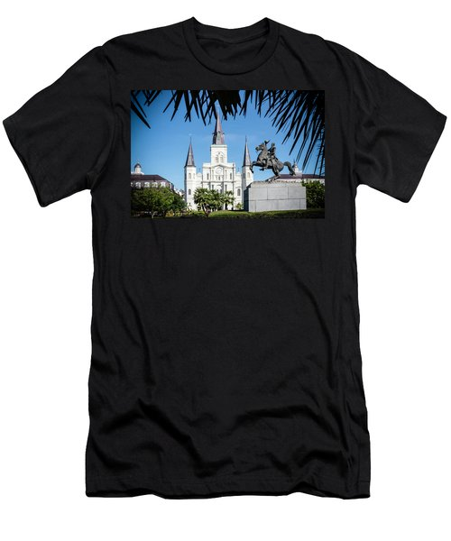 Jackson Square Men's T-Shirt (Athletic Fit)