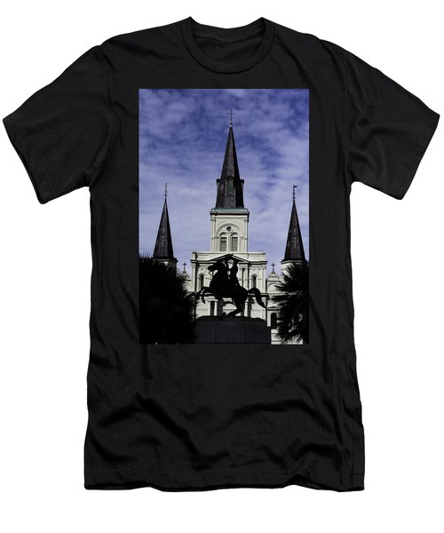 Jackson Square - Color Men's T-Shirt (Athletic Fit)