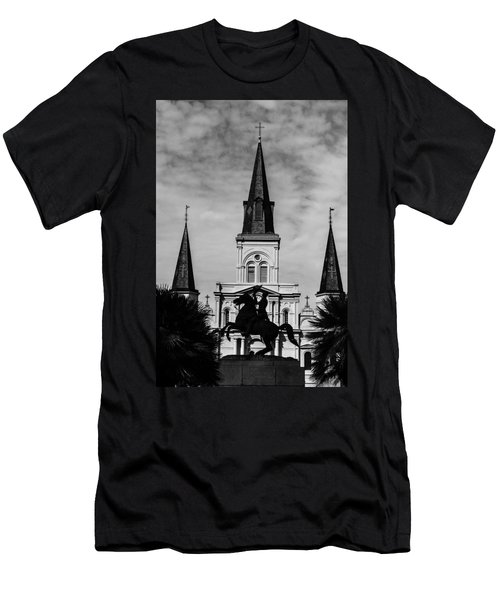Jackson Square - Monochrome Men's T-Shirt (Athletic Fit)