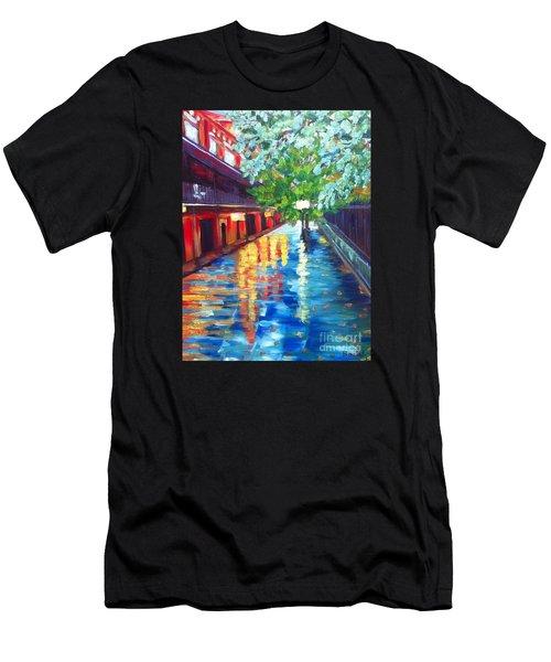 Jackson Square Reflections Men's T-Shirt (Athletic Fit)
