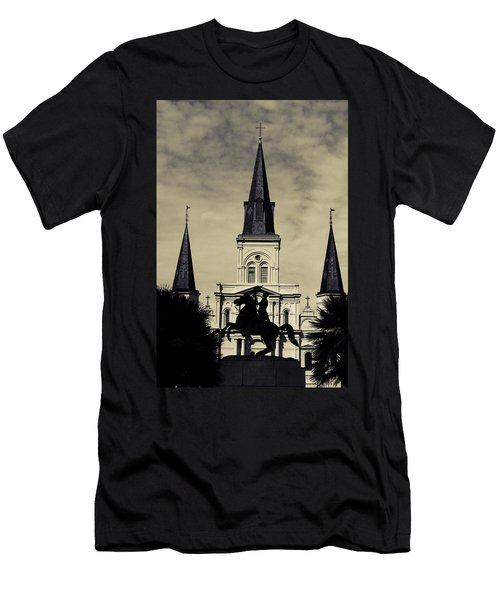 Jackson Square - Split Tone Men's T-Shirt (Athletic Fit)