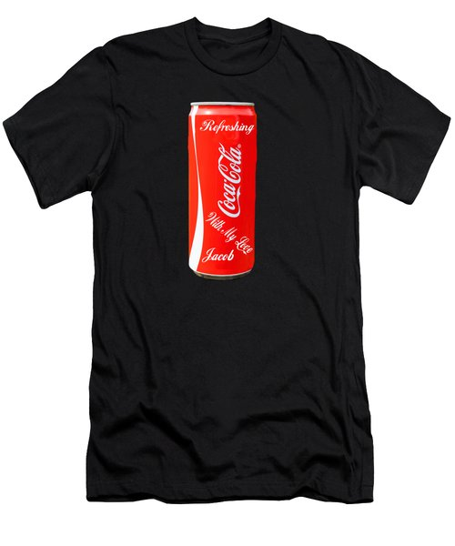 Jacob Men's T-Shirt (Slim Fit) by EricaMaxine Price