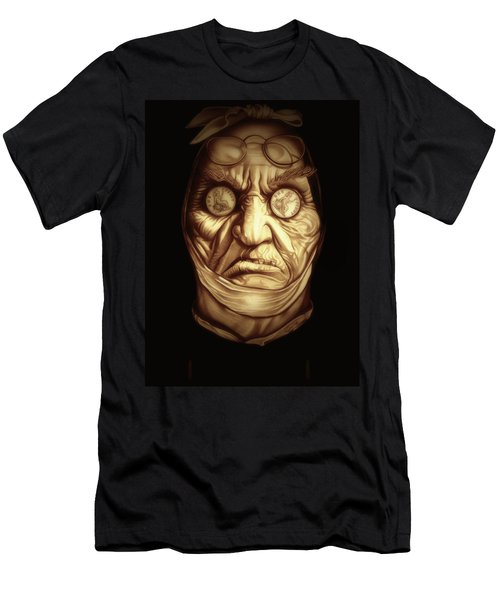 Jacob Marley Men's T-Shirt (Slim Fit) by Fred Larucci