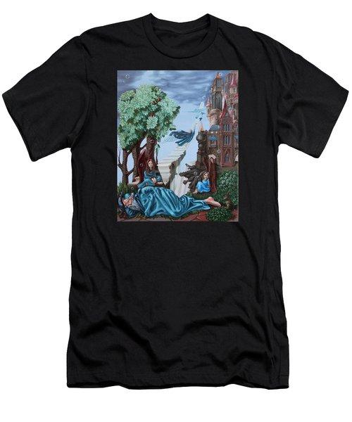 Jacob's Ladder Men's T-Shirt (Athletic Fit)