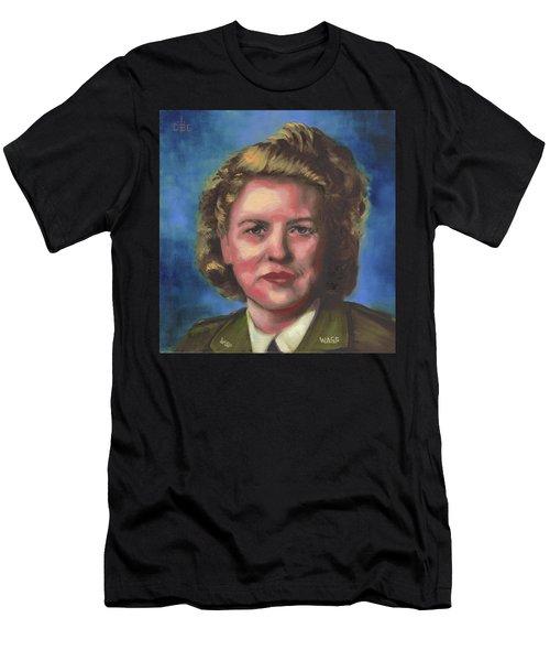 Jacqueline Cochran Men's T-Shirt (Athletic Fit)