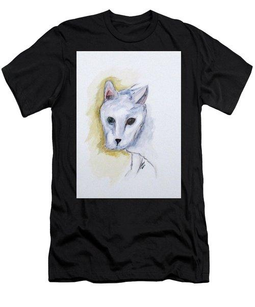 Jade The Cat Men's T-Shirt (Athletic Fit)