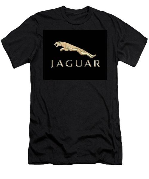 Jaguar Car Emblem Design Men's T-Shirt (Athletic Fit)
