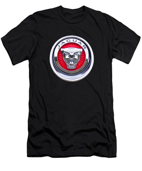 Jaguar Emblem Men's T-Shirt (Athletic Fit)