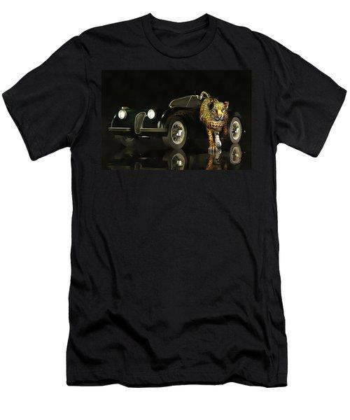 Jaguar Mk 3 Men's T-Shirt (Athletic Fit)