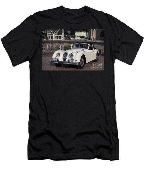 Jaguar Xk 140 Men's T-Shirt (Slim Fit) by Dennis Hedberg