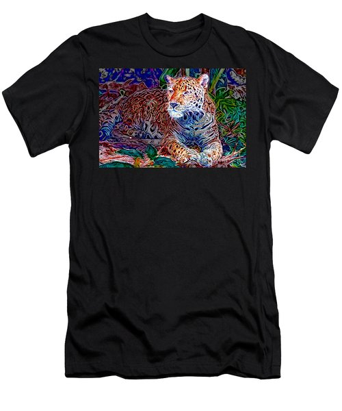 Jaguar Men's T-Shirt (Slim Fit) by Zedi