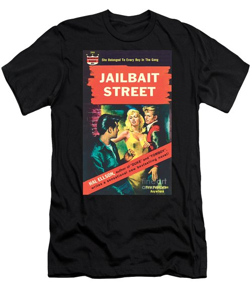 Jailbait Street Men's T-Shirt (Athletic Fit)