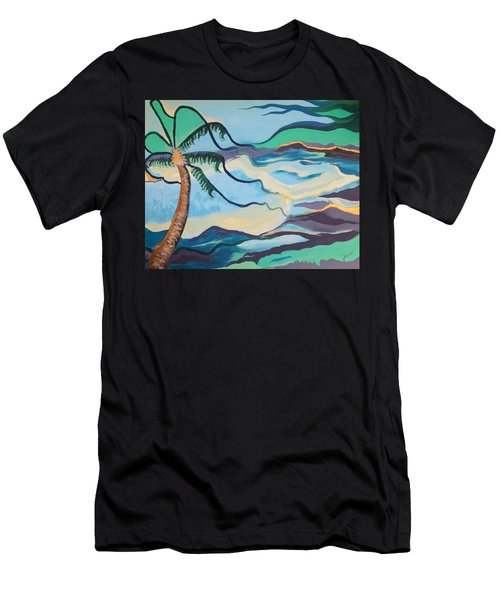 Jamaican Sea Breeze Men's T-Shirt (Athletic Fit)