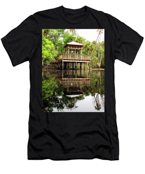 James E Grey Fishing Pier Men's T-Shirt (Athletic Fit)