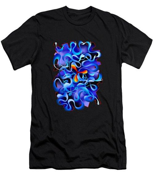 Jamurina V3 - Digital Abstract Men's T-Shirt (Athletic Fit)