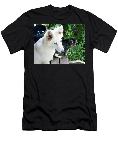 Jane And Katie Men's T-Shirt (Athletic Fit)