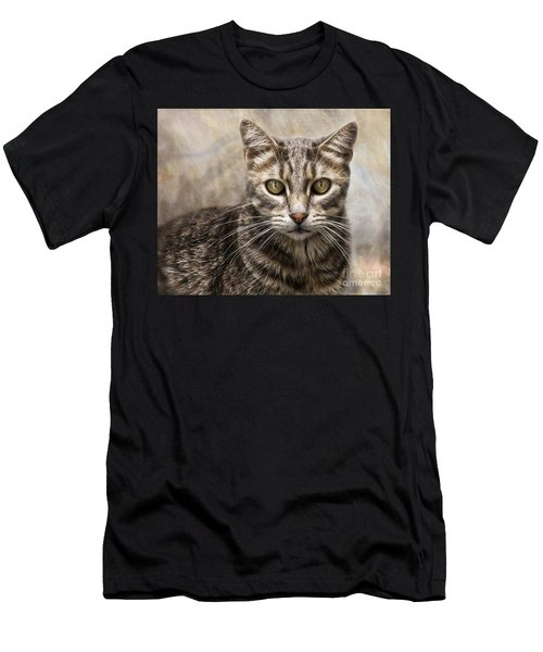 Janie's Kitty Men's T-Shirt (Athletic Fit)