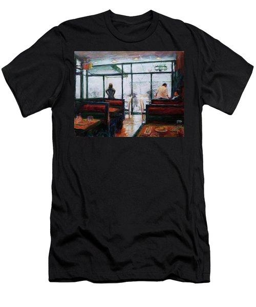 January, Morning Break Men's T-Shirt (Athletic Fit)