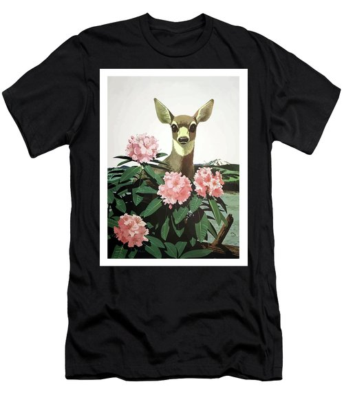 Japan, Hunting Season, Deer Men's T-Shirt (Athletic Fit)