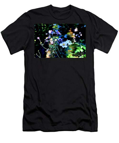 Japanese Anemone In The Afternoon Light Men's T-Shirt (Athletic Fit)