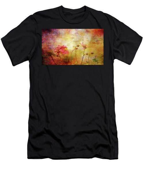Japanese Anemone Landscape 3959 Idp_2 Men's T-Shirt (Athletic Fit)