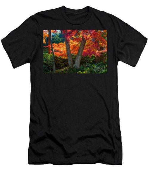 Japanese Garden Grove Men's T-Shirt (Athletic Fit)