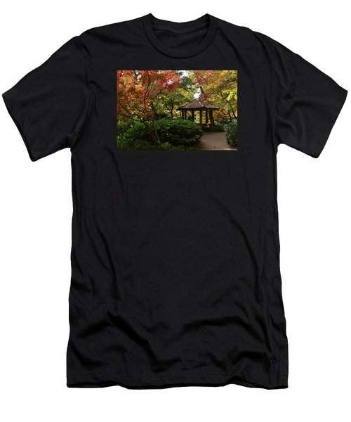 Japanese Gardens 2577 Men's T-Shirt (Athletic Fit)