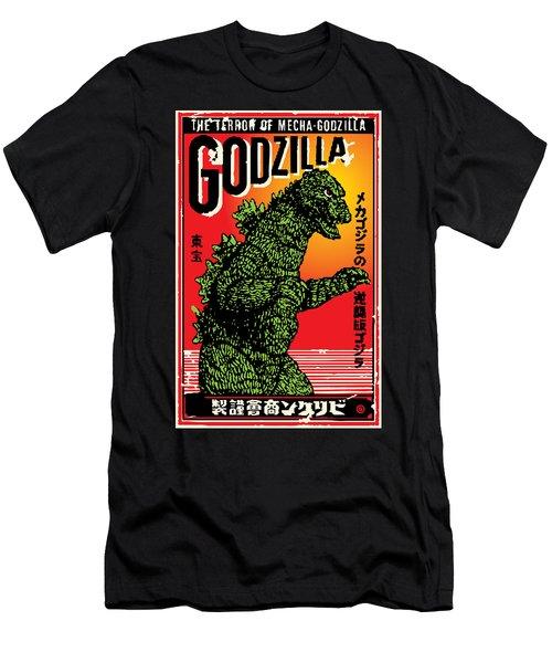 Japanese Godzilla  Men's T-Shirt (Athletic Fit)
