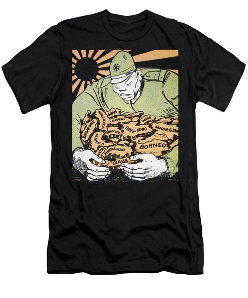 Men's T-Shirt (Slim Fit) featuring the photograph Japanese Imperialism by Granger