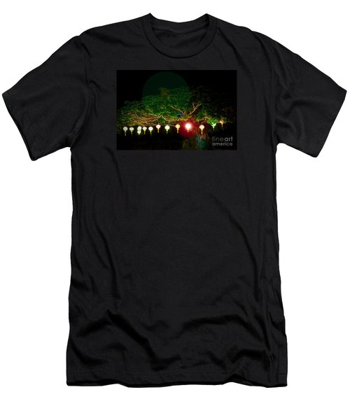 Japanese Lantern Tree Men's T-Shirt (Athletic Fit)