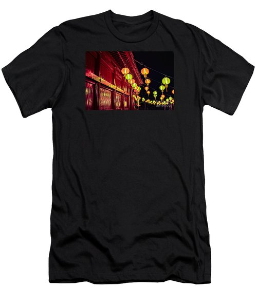 Japanese Lanterns 10 Men's T-Shirt (Athletic Fit)