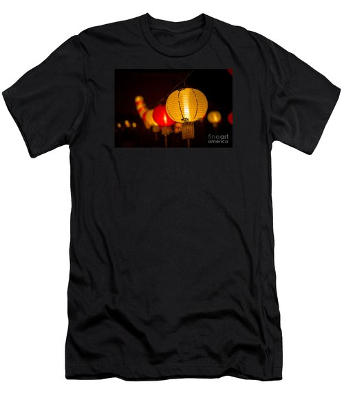 Japanese Lanterns 3 Men's T-Shirt (Athletic Fit)