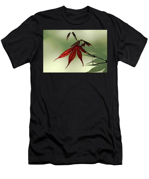 Japanese Maple Leaf Men's T-Shirt (Athletic Fit)