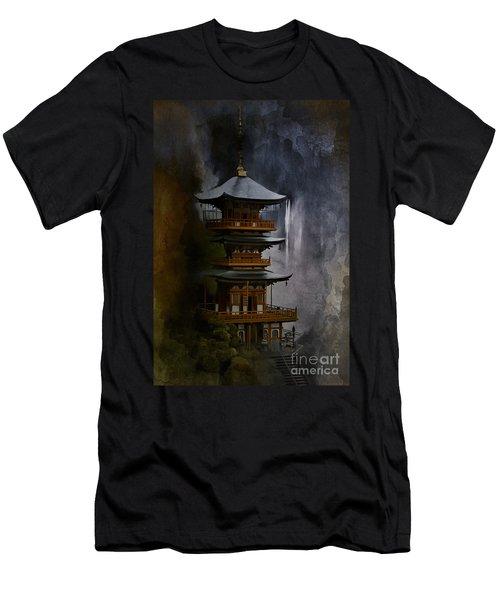 Japanese Temple. Men's T-Shirt (Athletic Fit)