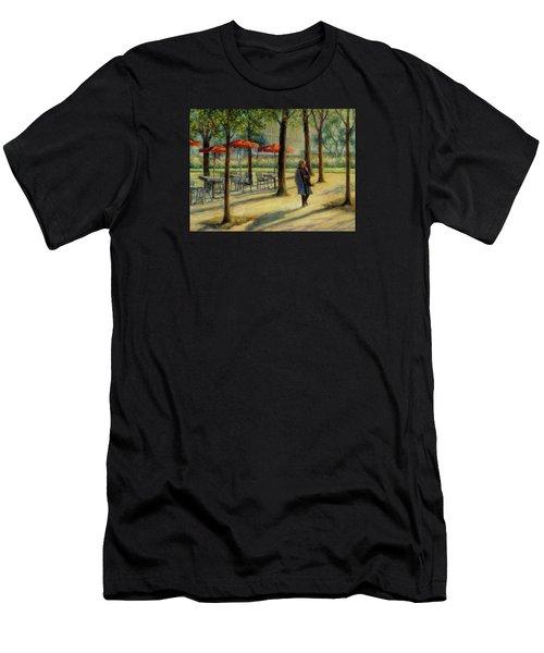 Jardin Des Tuileries In October Men's T-Shirt (Slim Fit) by Jill Musser